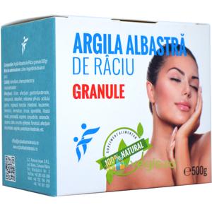 Argila Albastra De Raciu Granule 500gr imagine