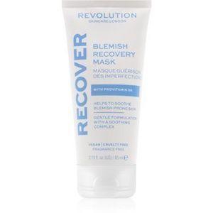 Revolution Skincare Blemish Recover mască de noapte pentru reînnoirea pielii pentru ten acneic imagine