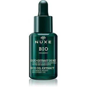 Nuxe Bio Organic ser de noapte reparator pentru ten normal spre uscat imagine