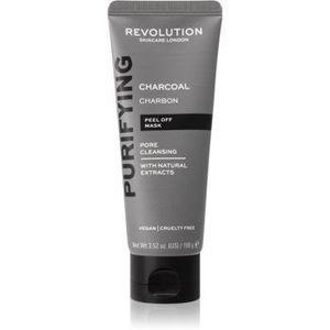 Revolution Skincare Purifying Charcoal mască exfoliantă împotriva punctelor negre, cu cărbune activ imagine