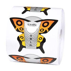 Sabloane Constructie Unghii LUXORISE Fluture, 500 buc imagine