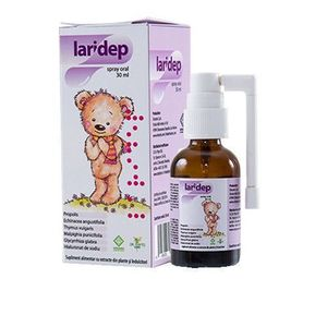 Laridep spray oral, 30 ml, Dr. Phyto imagine