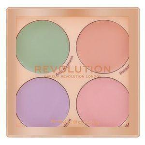Makeup Revolution Matte Base Concealer Palette paleta corectoare 2, 2 g imagine