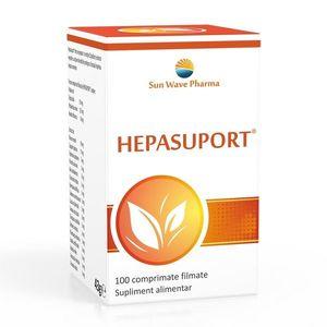 Hepasuport, 100 comprimate, Sunwave imagine
