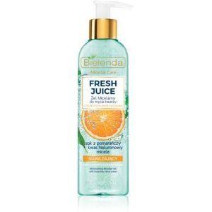Bielenda Fresh Juice Orange gel de curatare micelar cu efect de hidratare imagine