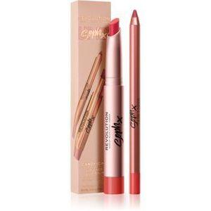 Makeup Revolution Soph X Lip Kit creion contur buze balsam imagine