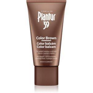 Plantur 39 Color Brown balsam pe baza de cafeina pentru nuante de par castaniu imagine