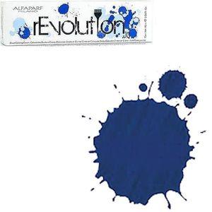 Crema Colorare Directa Albastra - Alfaparf Milano Jean's Color rEvolution Direct Coloring Cream TRUE BLUE 90 ml imagine