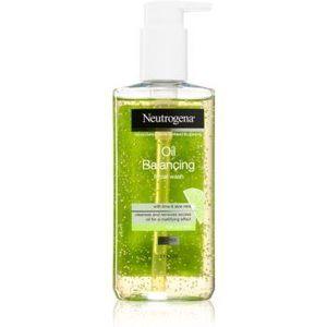 Neutrogena Oil Balancing gel de curățare pentru ten gras imagine